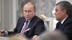 Putin Meets Russian Parliament Leaders