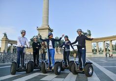 Have a lot of fun exploring the sights of Budapest on Segways.