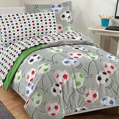 Dream Factory Soccer Bed Set  boys rooms