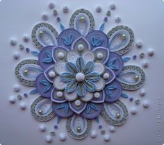 .quilling flower