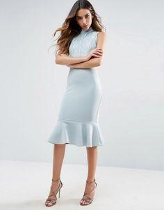 Discover Fashion Online Pailletten, Kleider, Große Kleider, Midikleider,  Schößchen Midikleid, Scuba 947fa1b7f7