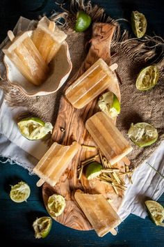 boozy lime, honey, + lemongrass popsicles [Adventures in Cooking]