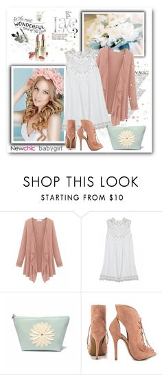 """""""NewChic"""" by sneky ❤ liked on Polyvore featuring Chinese Laundry, L'Oréal Paris, women's clothing, women's fashion, women, female, woman, misses and juniors"""