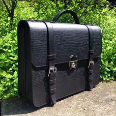 Bespoke English briefcase