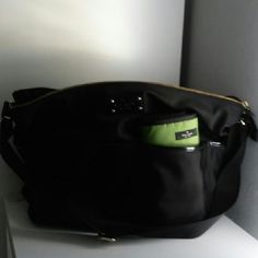 Memorial day SALE!! Kate Spade black diaper bag Used but in great condition. It can be use as a diaper or traveling bag. No rips or stain. kate spade Bags Travel Bags