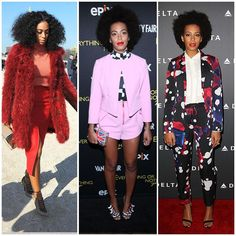 The 21 Best-Dressed Women Right Now - Sister of Beyoncé, Solange Knowles has establishing herself as one of fashion's most exciting muses.