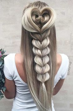 24 Creative & Unique Wedding Hairstyles ❤ See more: www. 24 Creative & Unique Wedding Hairstyles ❤ See more: www. 24 Creative & Unique Wedding Hairstyles ❤ See more: www. Braided Hairstyles Tutorials, Messy Hairstyles, Pretty Hairstyles, Latest Hairstyles, Hairstyle Ideas, Everyday Hairstyles, Hair Ideas, Wedge Hairstyles, Updo Hairstyle