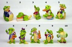 Kinder Surprise toys Crazy Crocs from 90s Childhood, Childhood Memories, Retro Toys, Vintage Toys, Miss The Old Days, Good Old Times, Pull Toy, 80s Kids, Lego Duplo