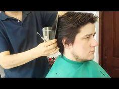 Como hacer un corte con tijera paso a paso - YouTube