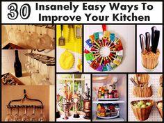 30 ways to improve your kitchen
