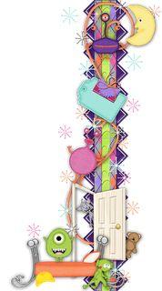 Scrapbooking TammyTags -- TT - Designer - 4 My Babies Scraps,  TT - Item - Border, TT - Style - Cluster, TT - Theme - Space