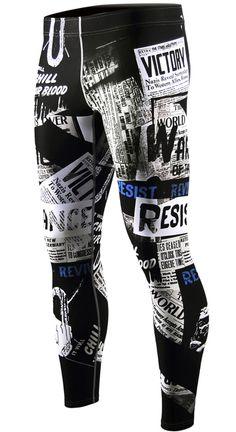 men compression pants leggings