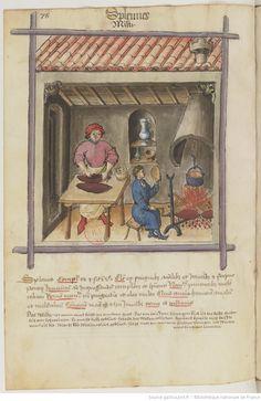 IBN BUTLÂN , Tacuinum sanitatis 15. Jhd Latin 9333  Folio 78v