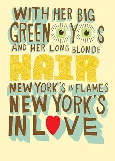 new york's in love - david bowie