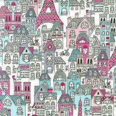 Robert Kaufman - Mon Amie Blush - cotton fabric