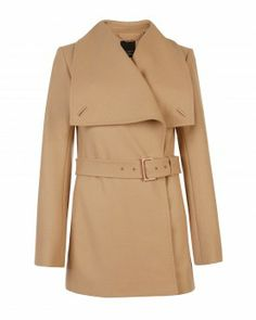 Pricey but a fab wardrobe staple! Love this Ted Baker coat on Hanna!