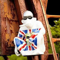 Monkey Man - More from the crazy ornament range. A cool retro gift for him who loves nothing more than a monkey to show off on his mantle piece. Best Gifts For Men, Cool Gifts, Urban Ideas, Vintage Robots, Mantle Piece, Crazy Man, Christmas Gifts For Him, House Ornaments, Union Jack