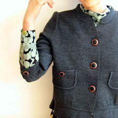 mina perhonen nostalgia short jacket | Lin total fashion place blog