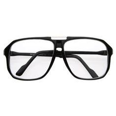 95fe65e50bd Large Clear Lens Retro Celebrity Style Square Aviator Glasses – FREYRS -  Beautifully designed