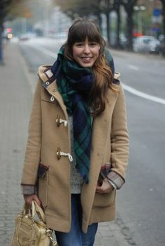 fall outfit #autumn #scarf #coat