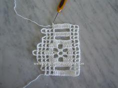 Ponto Preso1: Croche - Com vontade de Barrar ...