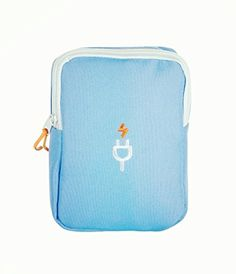 Travel storage bags digital finishing admitted charging packet data line for hard drive digital storage bag finishing packagesblue *** You can get more details by clicking on the image.