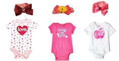 Adorable Valentine's Day Outfits for Mommy & Daddy's Baby Girl #ValentinesDay