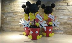 Mickey Mouse Centerpiece/ Baby Mickey by mariscraftingparty