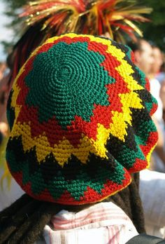 25475a5c677 Instructions for a Crocheted Dreadlock Hat