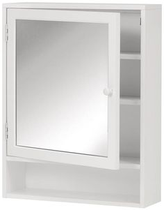 Home Decorators Collection Austell 22 In. W Wall Cabinet With Mirror In    The Home Depot