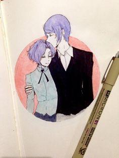 Kanae will always live in my heart Kanae Von Rosewald, Tsukiyama, Anime Neko, Tokyo Ghoul, Inktober, Pretty People, Ship, Manga, Live