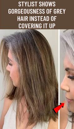 #Stylist #shows #gorgeousness #grey #hair #instead #covering Rose Tattoos For Women, Hip Tattoos Women, Arm Tattoos Snake, Hand Tattoos, Floral Print Gowns, Baby Shower Deco, Classy Tattoos, Discreet Tattoos, Bling Acrylic Nails