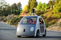 El coche sin volante de Google, toda una experiencia // Google's self-driving car eliminates steering wheel, accelerator and brake pedals