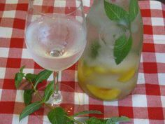 Confessions of Crafty Witches  Cooling Peach Mint Water- 0 calories ~Frisky    When it is hot outside, and I mean HOT you need something that will cool you off, Mint does just that! Plus water naturally cools you off, like free air conditioning, and suppresses your appetite to help you lose weight just like the peaches in this recipe. Can you think of anything better than to sit outside reading a book with some Peach Mint water? I feel relaxed just thinking about it.
