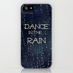 Dance in the Rain iPhone Case by Caleb Troy - $35.00