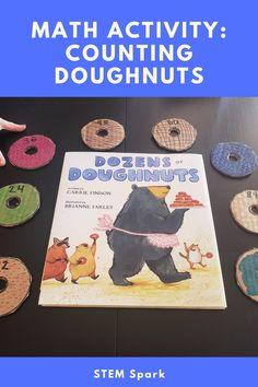 Steam Activities, Craft Activities For Kids, Math Activities, Pretend Kitchen, Preschool Kindergarten, Crafts To Do, Doughnuts, Counting, Good Books