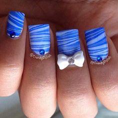 Trendy polish, cute design