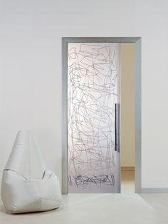 1000 images about puertas cristal decorativas on - Puerta corredera orchidea ...