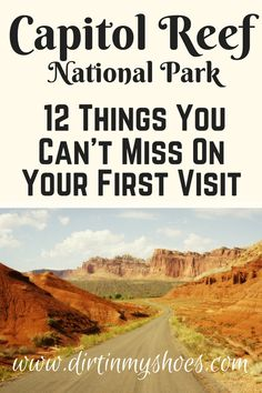Capitol Reef is a hidden gem, don't miss these 12 attractions! Written by a former Park Ranger!