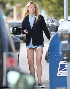Body confident: A staunch advocate of health and fitness, Gwyneth was clearly leading by e...