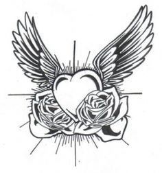 heart tattoo designs for women - Google Search