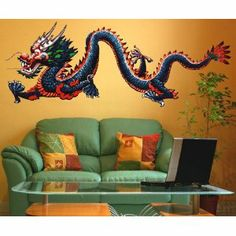 Chinese Dragon, Vinyl Decal