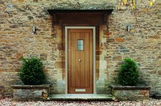 Hillingdon - new oak effect external doors range from Todd Doors Home Look, Hardwood Front Doors, Entrance Doors, Front Door, Front Door Entrance, Timber Door, External Doors, Hardwood Doors, Exterior Doors