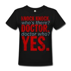 Best knock knock ever -- and I direct you to where it came from http://www.youtube.com/watch?v=Brae78kZqsI