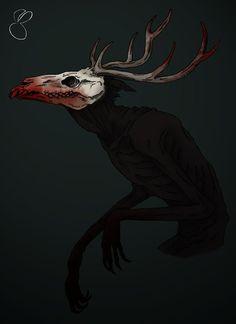 Wendigo (digital version) by Moony-Bunny