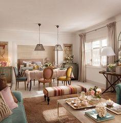 adelaparvu.com despre apartament in stil provence in nuante delicate, design Rotaeche Santayana, Foto ElMueble (12)
