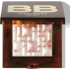 Bobbi Brown LIMITED EDITION Highlight Powder (€39) ❤ liked on Polyvore featuring beauty products, makeup, face makeup, face powder, beauty, highlighter, pink glow, bobbi brown cosmetics, blending brush and blender brush