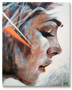 "https://flic.kr/p/dj2EdF   Time Flies By   Acrylic, Spraypaint and Correction Fluid On 20x16"" Canvas. www.facebook.com/artbydoc"
