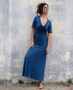 Long Warrior Dress (hemp/organic cotton knit). $155.00, via Etsy.