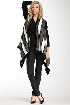 John & Jenn Striped Open Cardigan -- Nordstrom rack at Hautelook